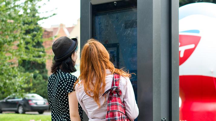 ISIT – Technologia interaktywna wwydaniu outdoor