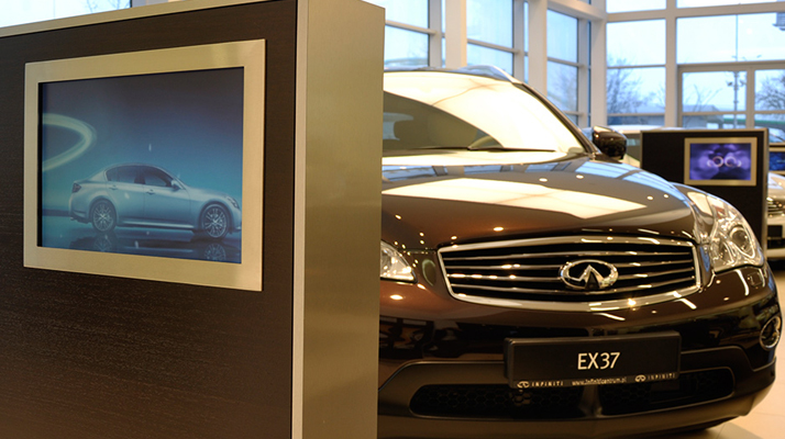 We can generate any Infiniti model within seconds