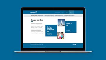 Nordea's Website